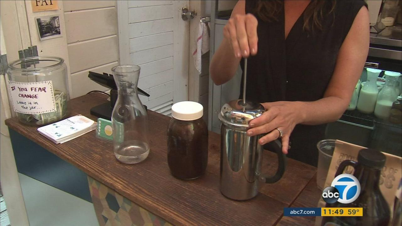 Cold brew coffee offers consumers more caffeine with less acid so they can enjoy a cup of Joe without typical stomach issues.