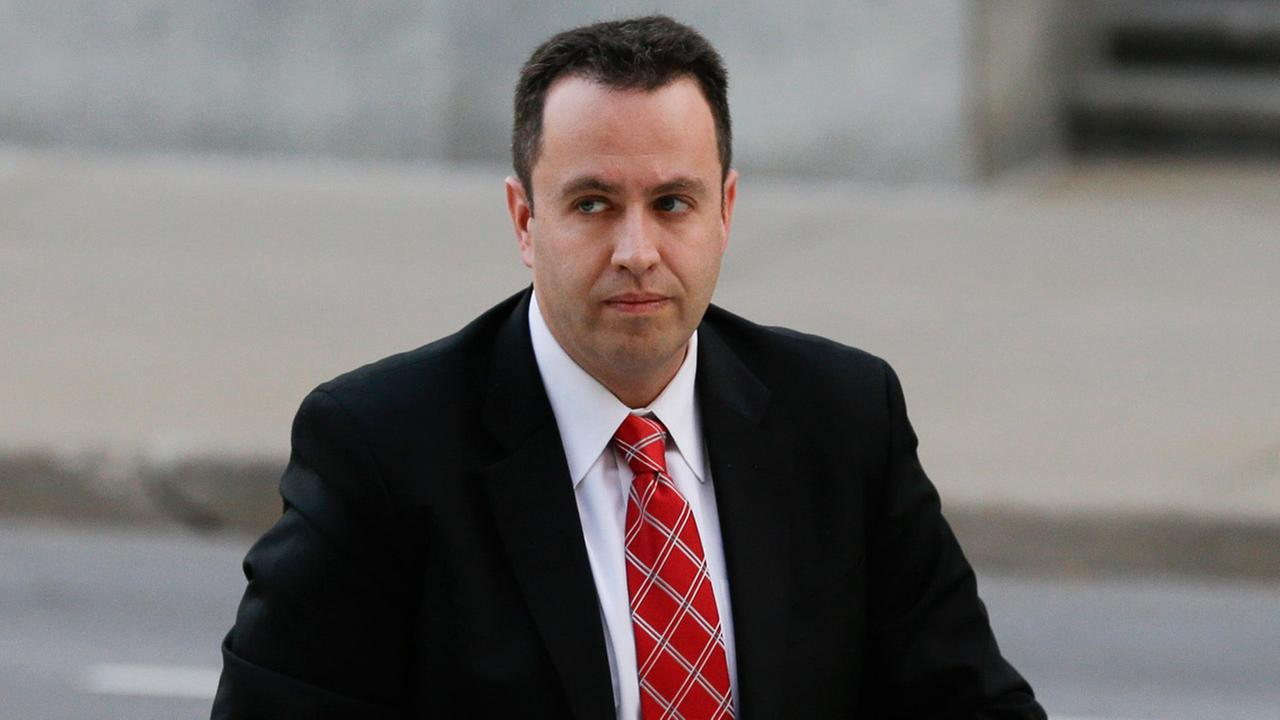 Former Subway pitchman Jared Fogle arrives at the federal courthouse in Indianapolis, Thursday, Nov. 19, 2015.