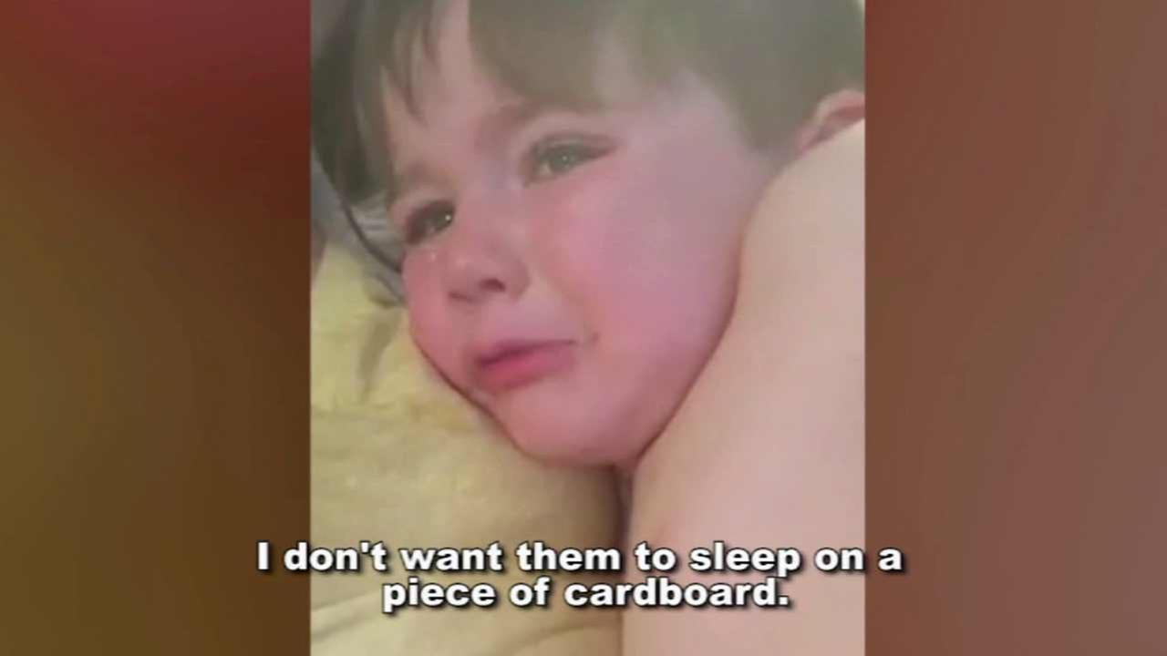 A 3-year-old boy in Alaska has made it his mission to help his citys homeless population this Christmas after his mom informed him some people sleep outside.