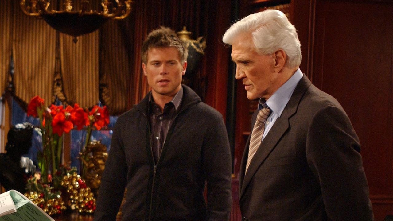 Actor David Canary (R), known for his dual roles as Adam and Stuart Chandler on ABCs All My Children, died of natural causes on Monday, Nov. 16, 2015. He was 77.AP Photo/Jennifer Szymaszek
