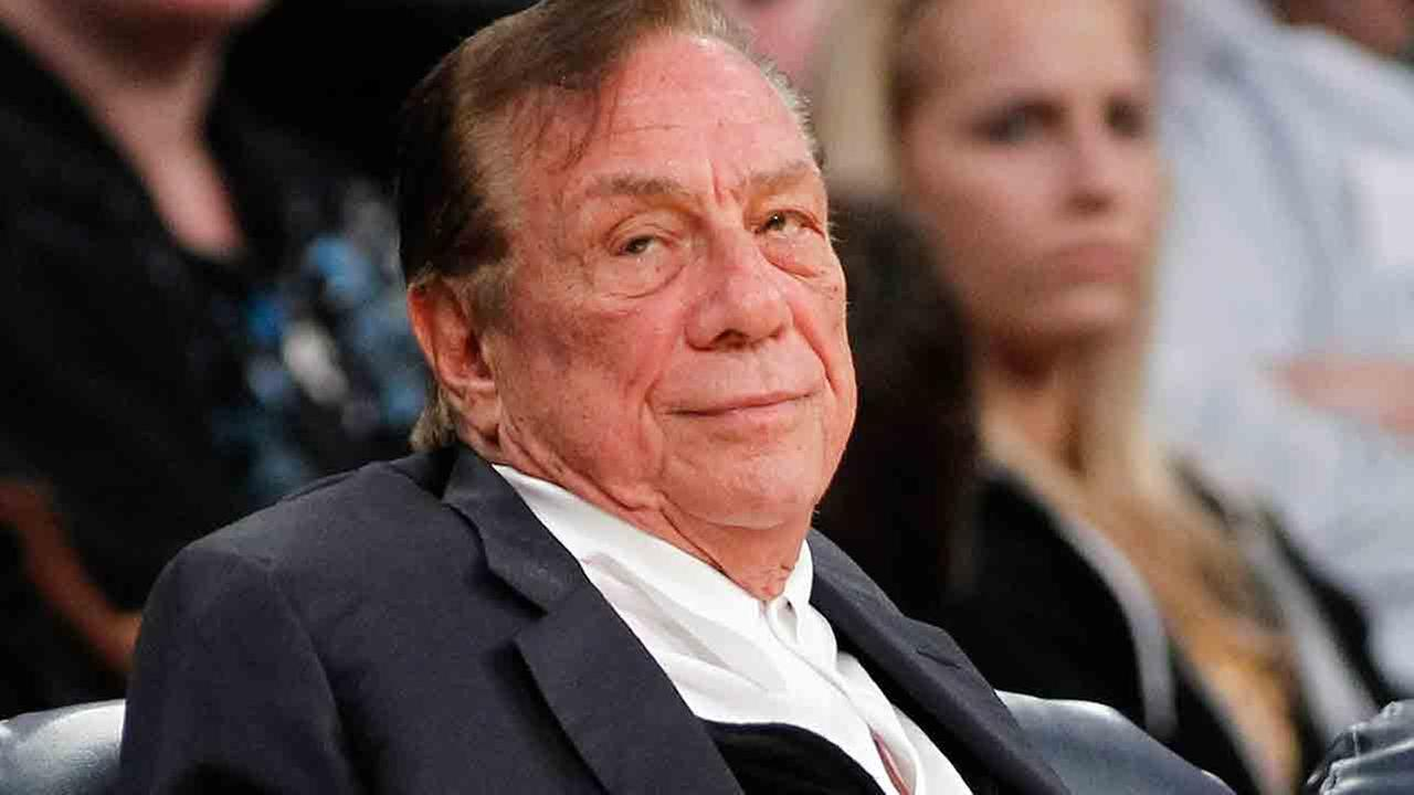 This is a Dec. 19, 2011 file photo showing Los Angeles Clippers owner Donald Sterling watching the Clippers play the Los Angeles Lakers during an NBA preseason basketball game.