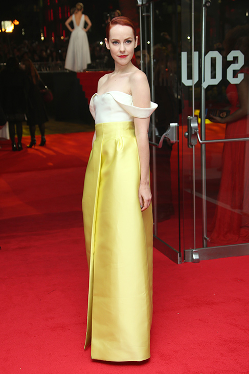 "<div class=""meta image-caption""><div class=""origin-logo origin-image ""><span></span></div><span class=""caption-text"">Jena Malone poses for photographers upon arrival to the world premiere of 'The Hunger Games: Mockingjay Part 1' in London, Monday, Nov. 10, 2014. (Joel Ryan/Invision/AP)</span></div>"