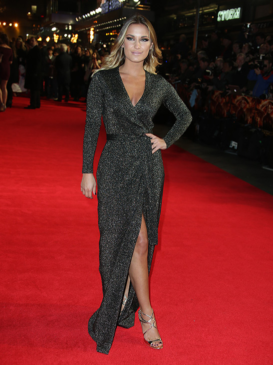 "<div class=""meta image-caption""><div class=""origin-logo origin-image ""><span></span></div><span class=""caption-text"">Sam Faiers poses for photographers upon arrival to the world premiere of 'The Hunger Games: Mockingjay Part 1' in London, Monday, Nov. 10, 2014. (Joel Ryan/Invision/AP)</span></div>"