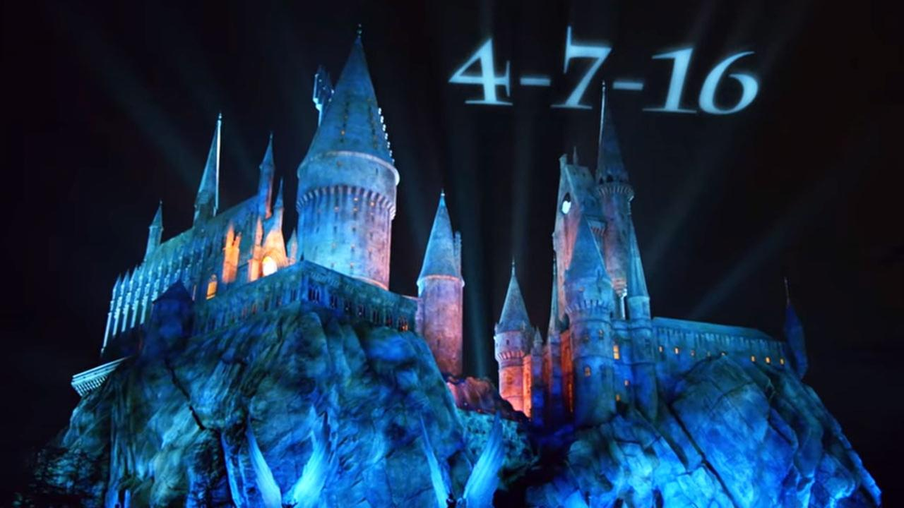 Universal Studios Hollywood announced The Wizarding World of Harry Potter will open its doors April 7, 2016.