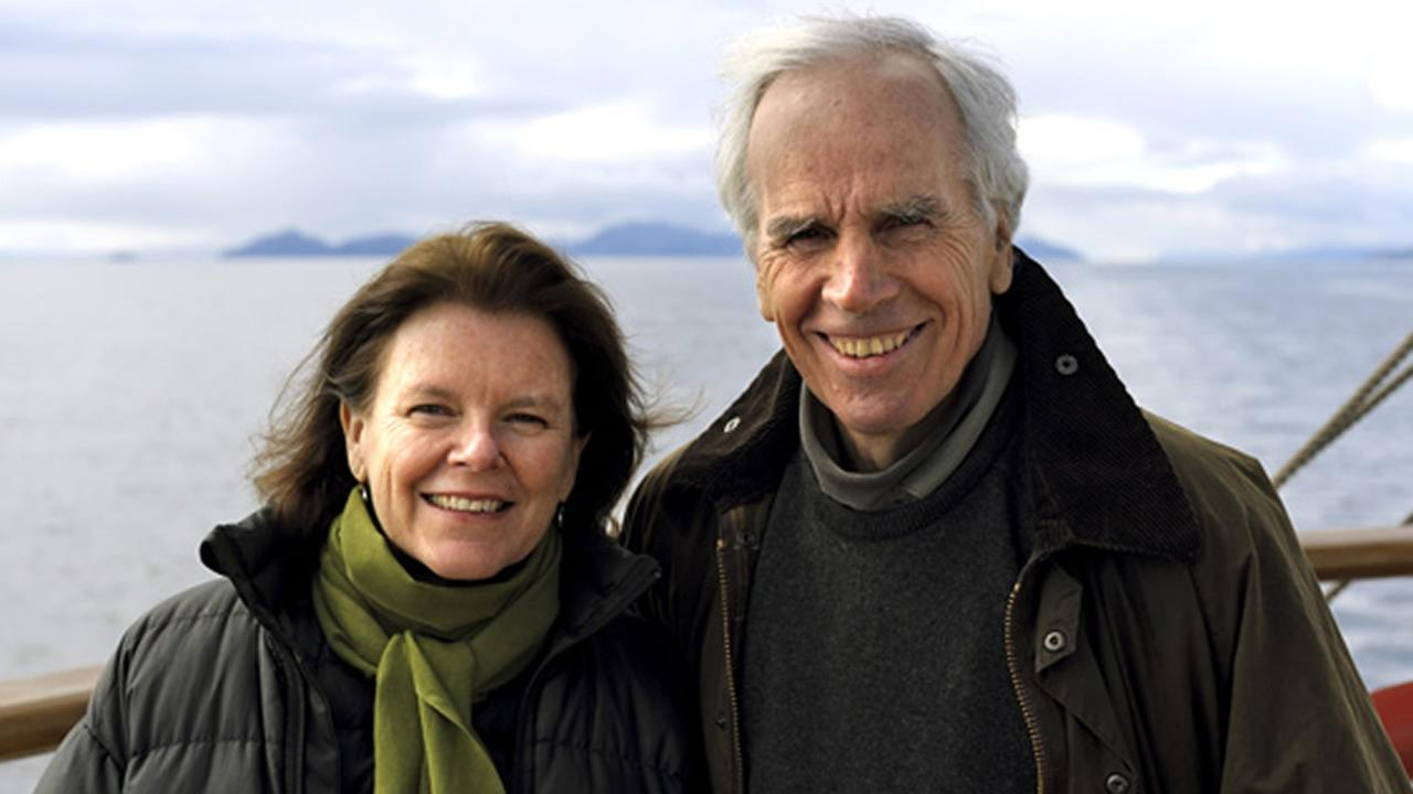Doug Tompkins, right, the co-founder of The North Face, died from hypothermia in a kayaking accident in Chile, authorities said Dec. 9, 2015.www.tompkinsconservation.org