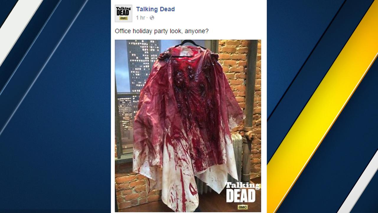 A post to the Facebook page of AMCs Talking Dead sparked outrage following the San Bernardino attack.