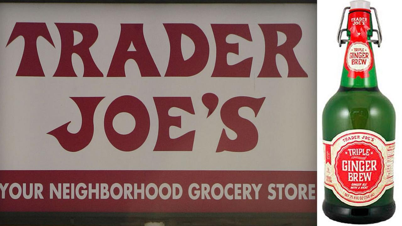 Trader Joes is voluntarily recalling its Triple Ginger Brew because the unopened glass bottles may burst.
