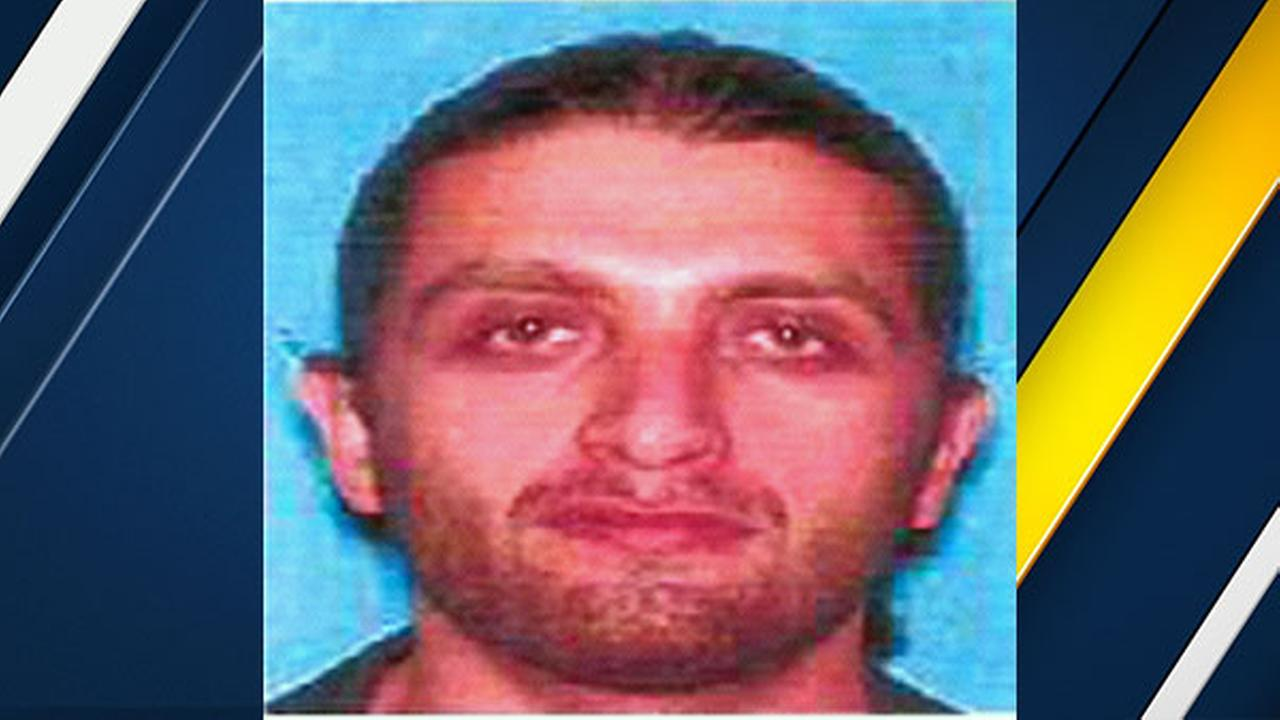 Officials said 32-year-old Artyom Gasparyan is wanted for a violent crime spree in Los Angeles County including murder, attempted murder, carjacking and robbery.