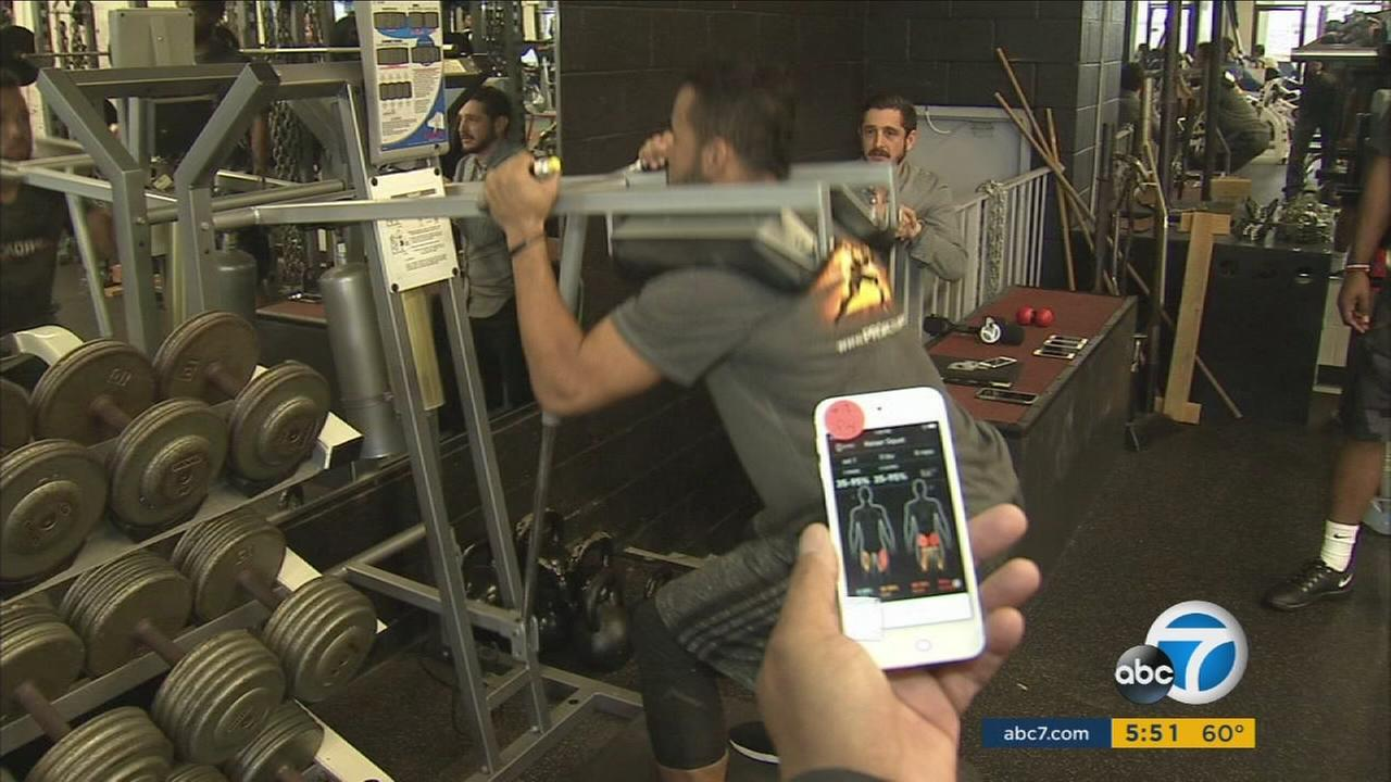 Athos Technology Helps Nfl Prospects Correct Optimize Their Workout Abc7 Com