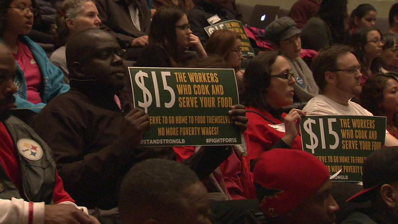 The Long Beach City Council voted Wednesday, Jan. 20, 2016 to gradually raise the minimum wage from $10 to $13 by 2019.