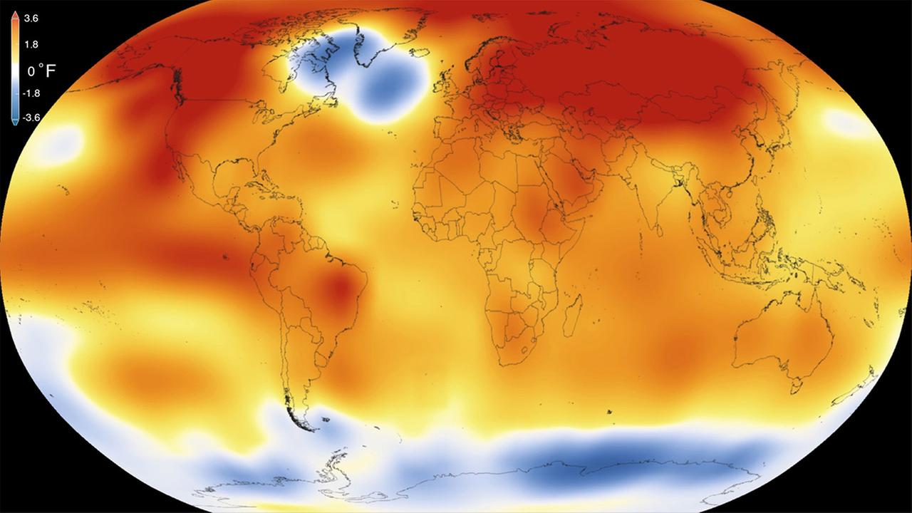 The National Oceanic Atmospheric Administration and NASA announced Wednesday, Jan. 20, 2016 that 2015 was by far the hottest year in 136 years of record keeping.
