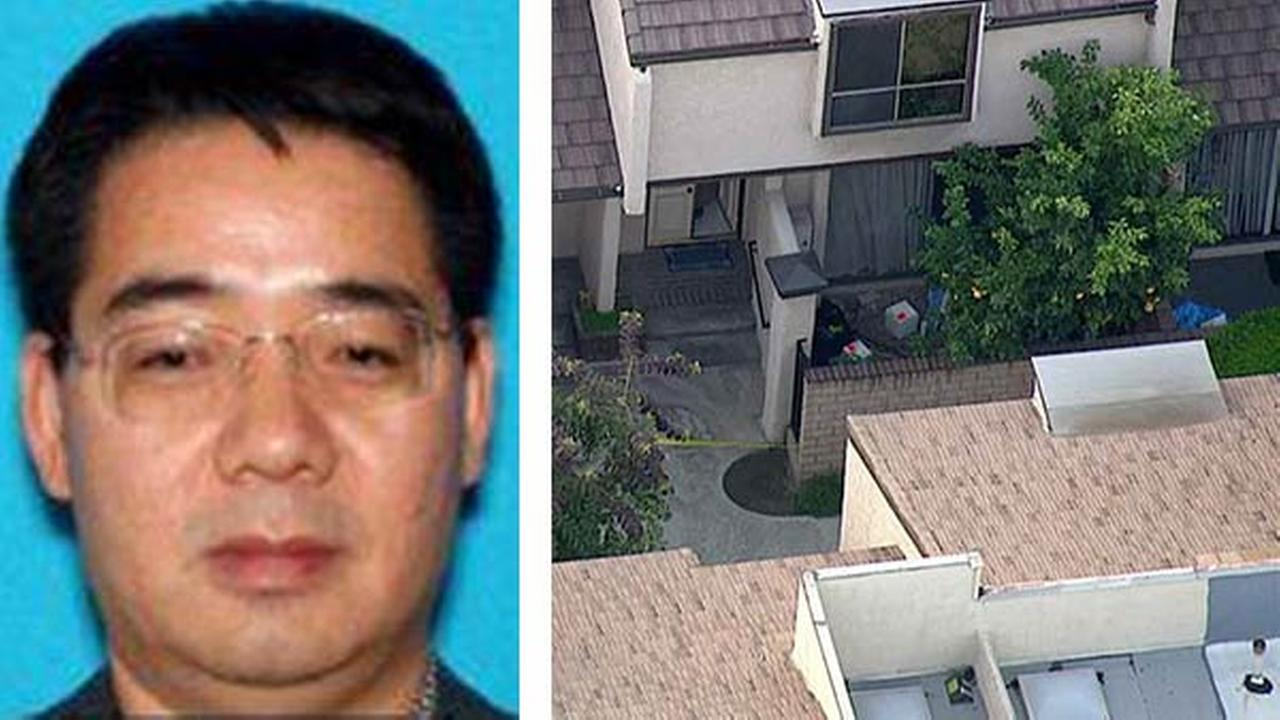 Deyun Shi, 44, is wanted in the double murder of his nephews in Arcadia and the attempted murder of his wife in La Canada, according to the Los Angeles County Sheriffs Department.