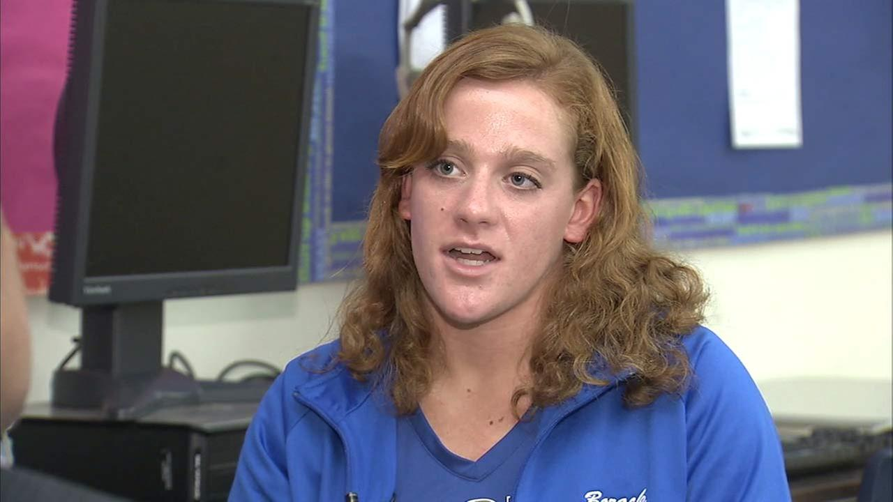 Our ABC7 Cool Kid for Thursday, Jan. 28, is Kayla Borack, who is finding ways to help special-needs students at Fountain Valley High School.