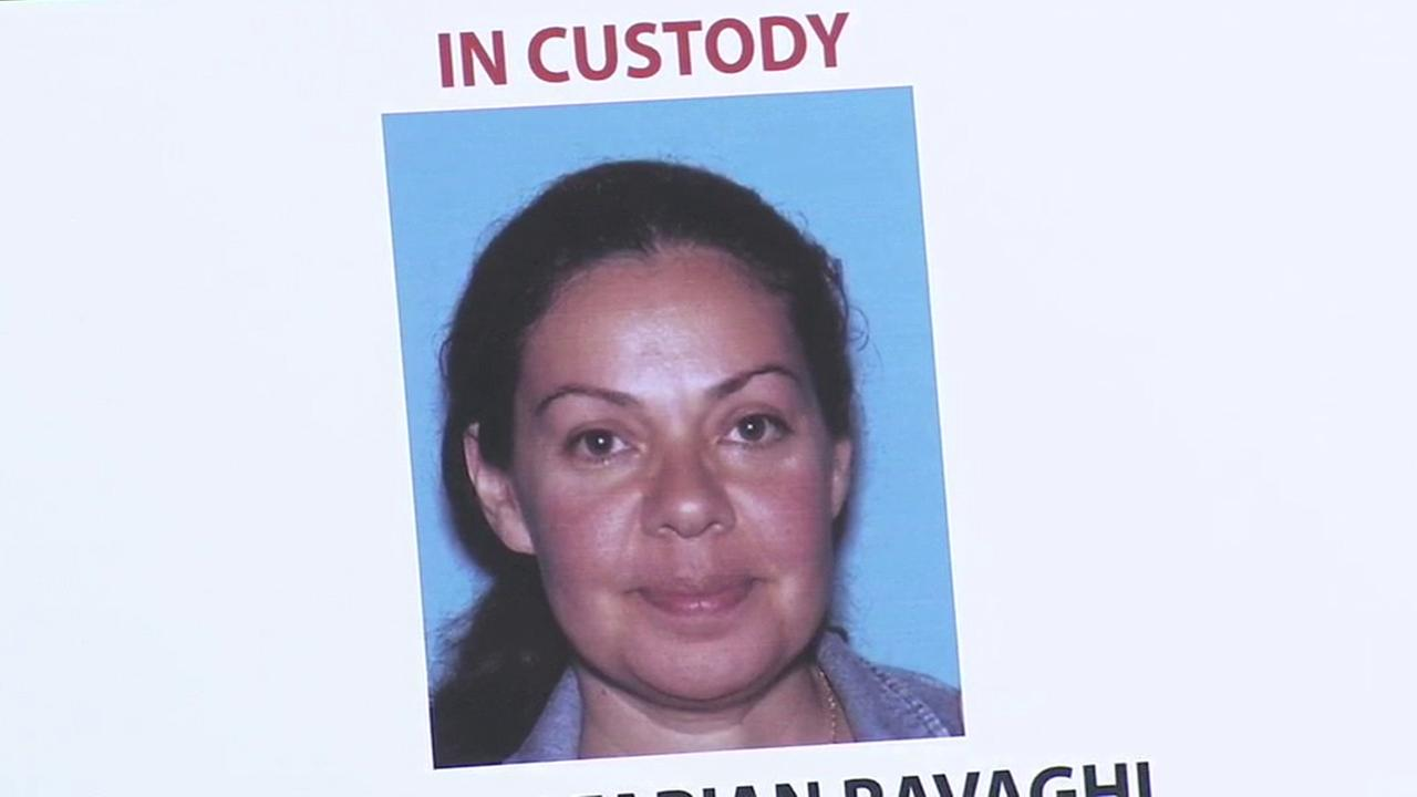 Nooshafarin Ravaghi, 44, of Lake Forest, is shown in an undated photo during an Orange County Sheriffs Department press conference on Thursday, Jan. 28, 2016.