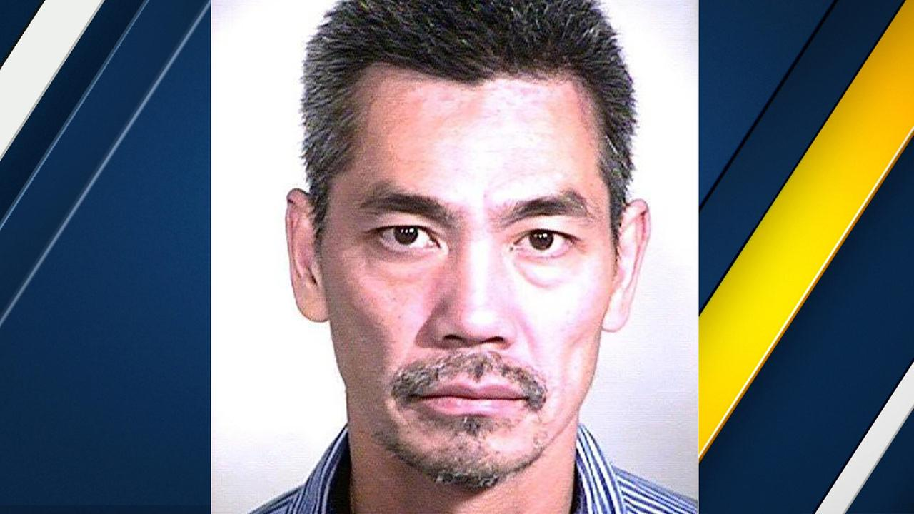 Bac Duong is seen in this photo released by the Orange County Sheriffs Department.