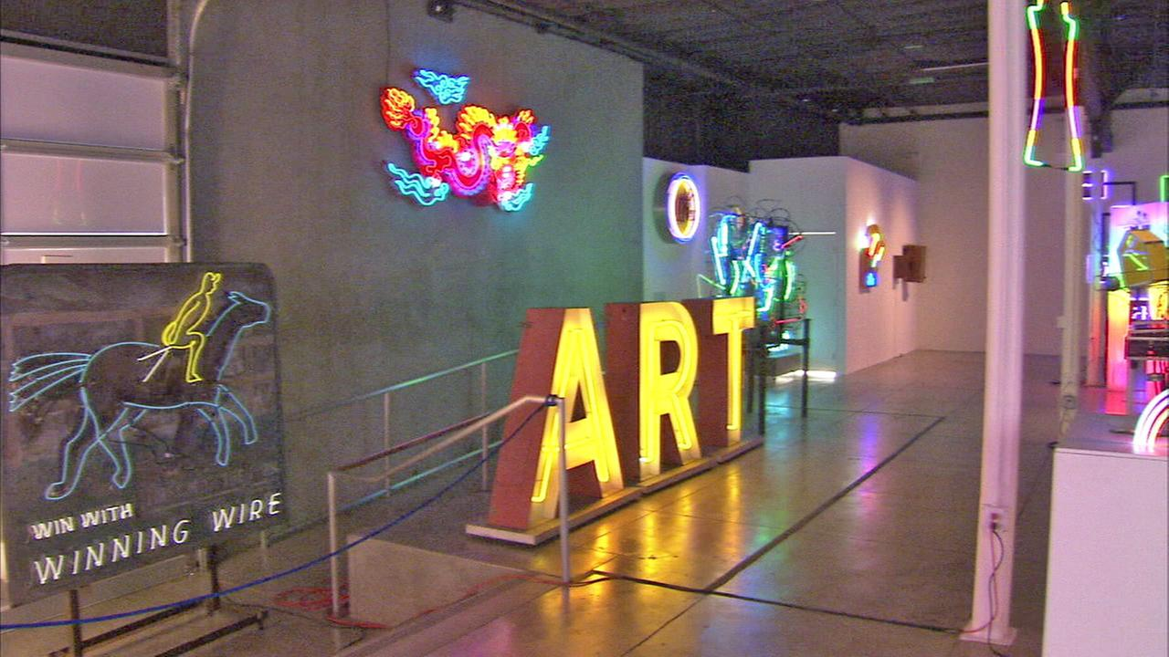 Adrienne Alpert takes us on a tour of the Museum of Neon Art, which has its new home in Glendale.