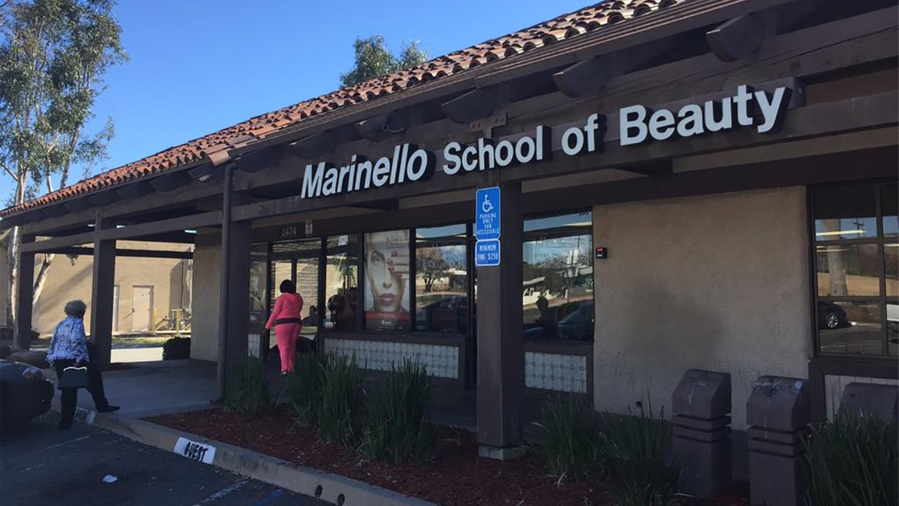The U.S. Department of Education cut off the financial aid assistance program at 23 Marinello School of Beauty campuses after uncovering several violations.