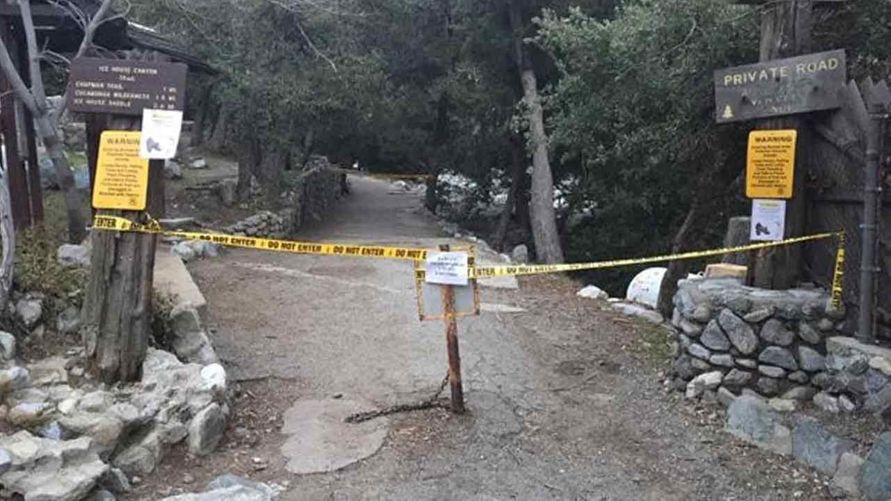 Mount Baldy trails were closed on Monday, Feb. 8, 2016, after the death of a second hiker in less than a week.