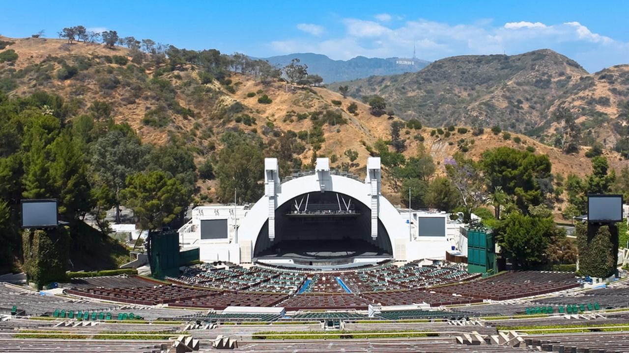 The Hollywood Bowl is shown in an undated file photo.