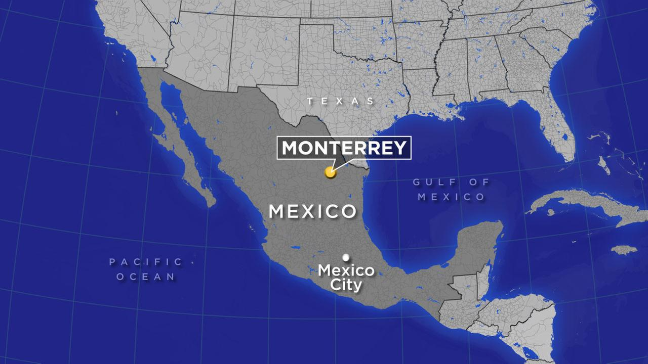 A map indicates the location of Monterrey, Mexico.