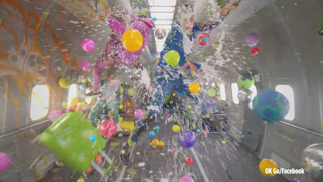 The latest viral music video from OK Go defies gravity as it gathered millions of views the day of its release on Thursday, Feb. 11, 2016.