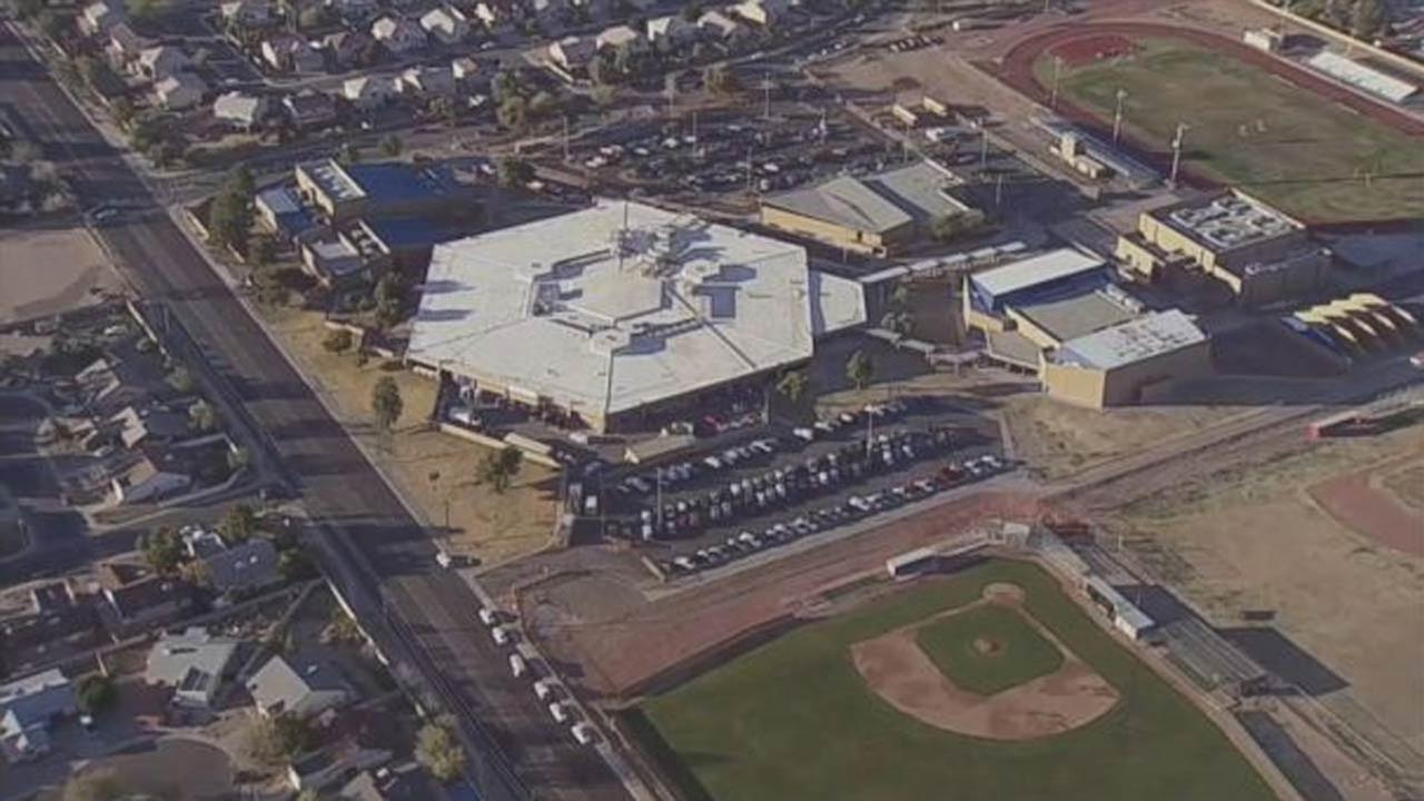 ABC News photo of Independence High School in the Phoenix suburb of Glendale.