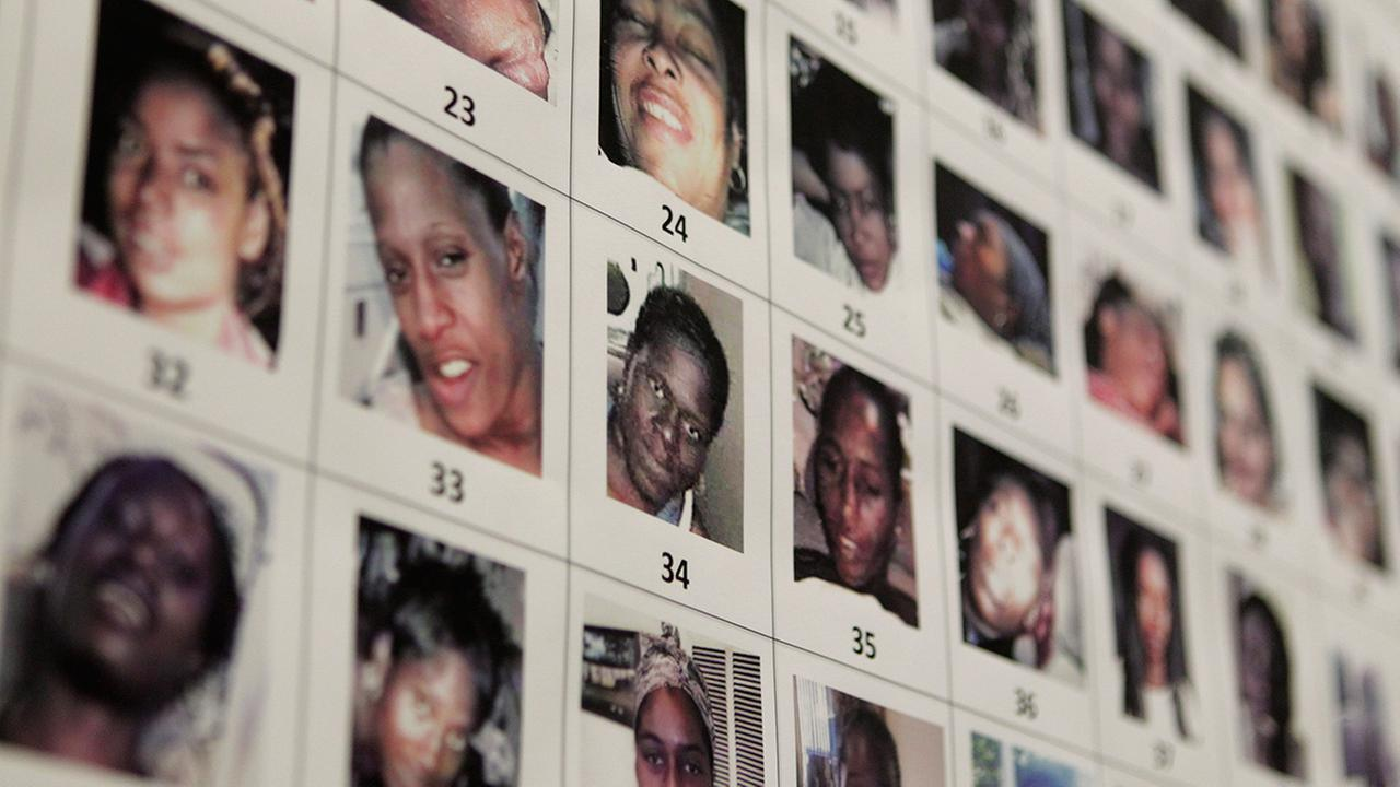 Detectives released dozens of photographs of unidentified women that were found at the home of the suspected Grim Sleeper serial killer.