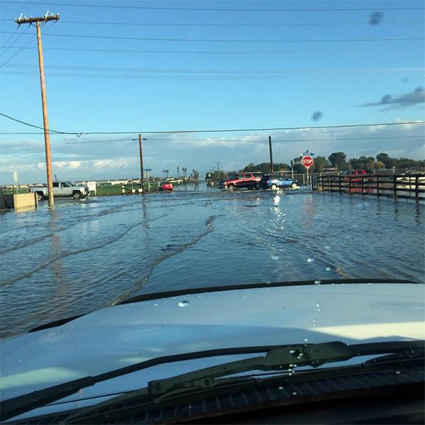 Apartments In Hemet California: Heavy Rain Causes Flooding In Hemet, San Jacinto; Trapped