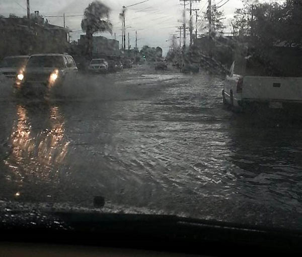 torrance businesses swamped in flash flood