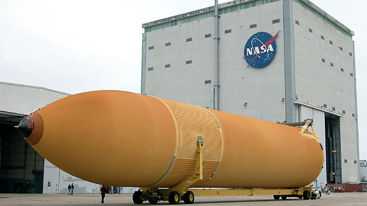 The California Science Centers ET-94 at NASA Michoud Assembly Facility in New Orleans, Louisiana.