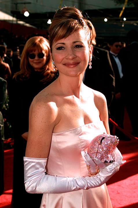 Voice actress Christine Cavanaugh, is seen March 25, 1996 at the 68th Academy Awards in L.A. Cavanaugh, known for her role as Chuckie in the 'Rugrats,' died Monday, Dec. 22, 2014. <span class=meta>AP Photo/Mark J. Terrill, File</span>