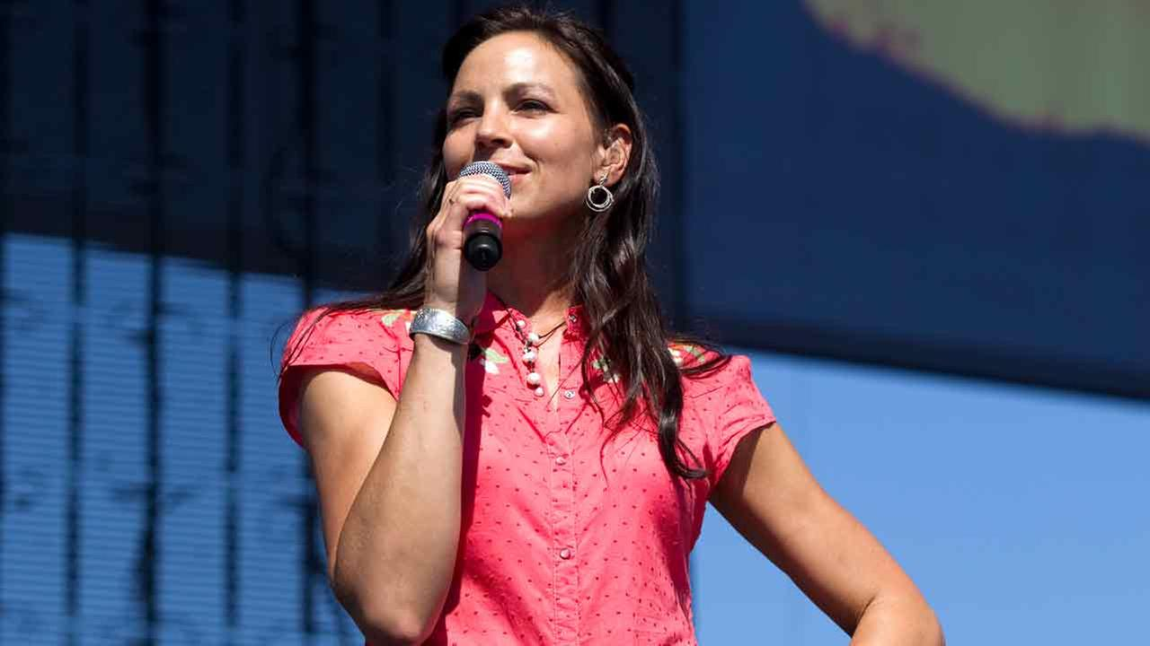 Joey Feek of Joey + Rory perform at the 2010 Stagecoach Music Festival at the Empire Polo Club on April 24, 2010 in Indio, California.