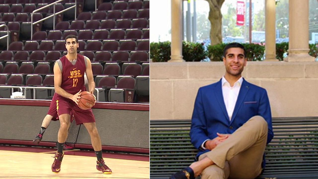 USC junior walk-on Sam Dhillon not only plays basketball, but also runs a multi-million dollar company and is researching a cure for Alzheimers disease.