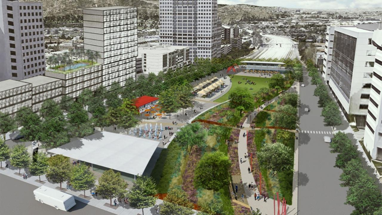 A mega-project dubbed Space 134 aims to bring open space to Glendale by building a 24-acre park over the 134 Freeway from Central to Balboa avenues.