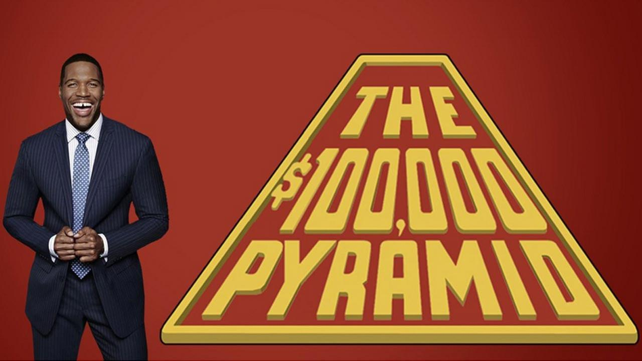 Michael Strahan is the host of ABCs new $100,000 Pyramid.