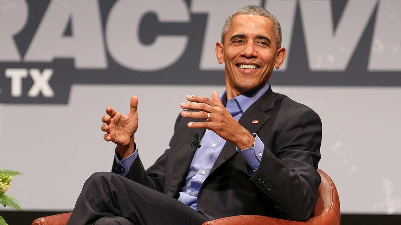 President Obama touted his economic achievements and poked fun at critics at the South By Southwest Festival in Texas on Friday, March 11, 2016.