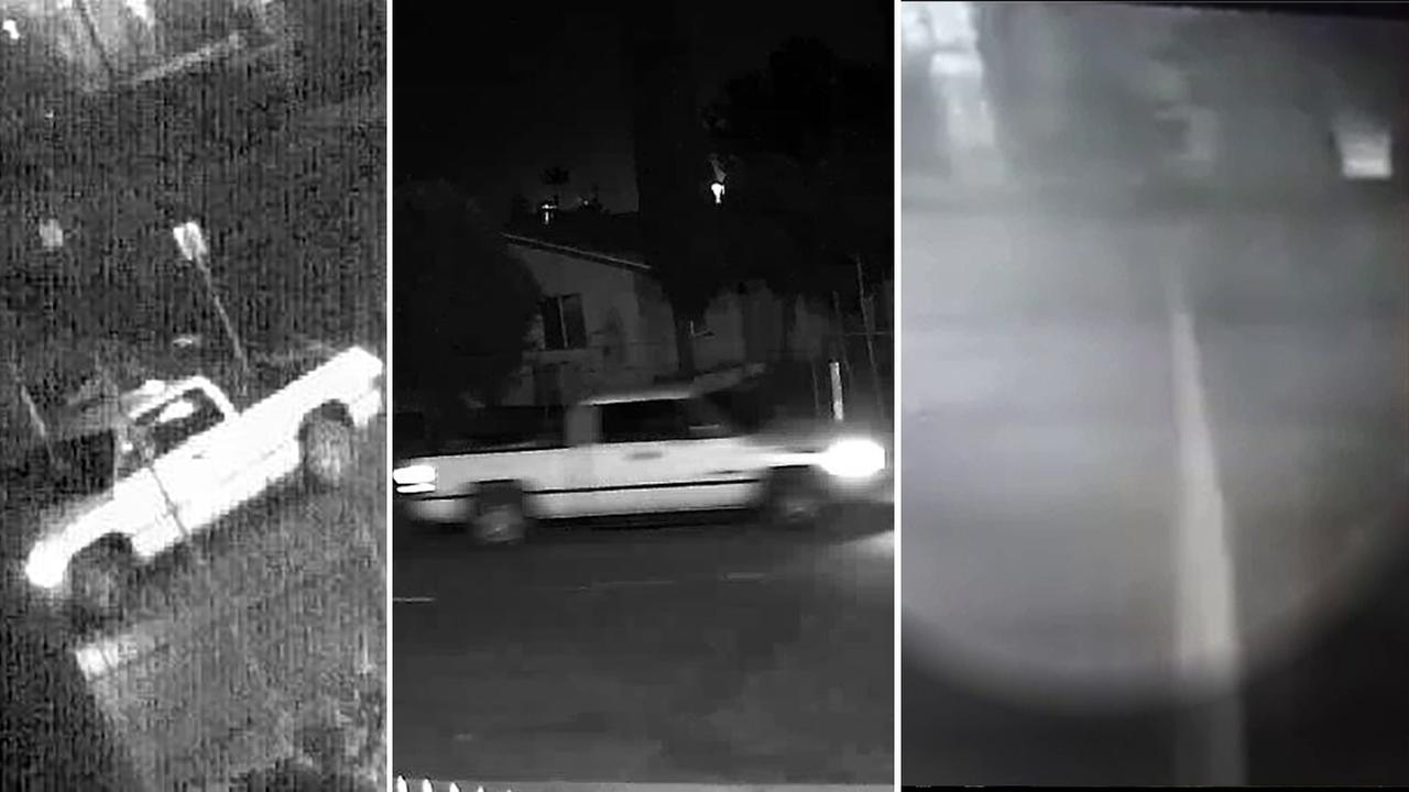 Images released by the Fontana Police Department show an arson suspect setting a fire at G.O. Pallets on Jan. 17, 2016.