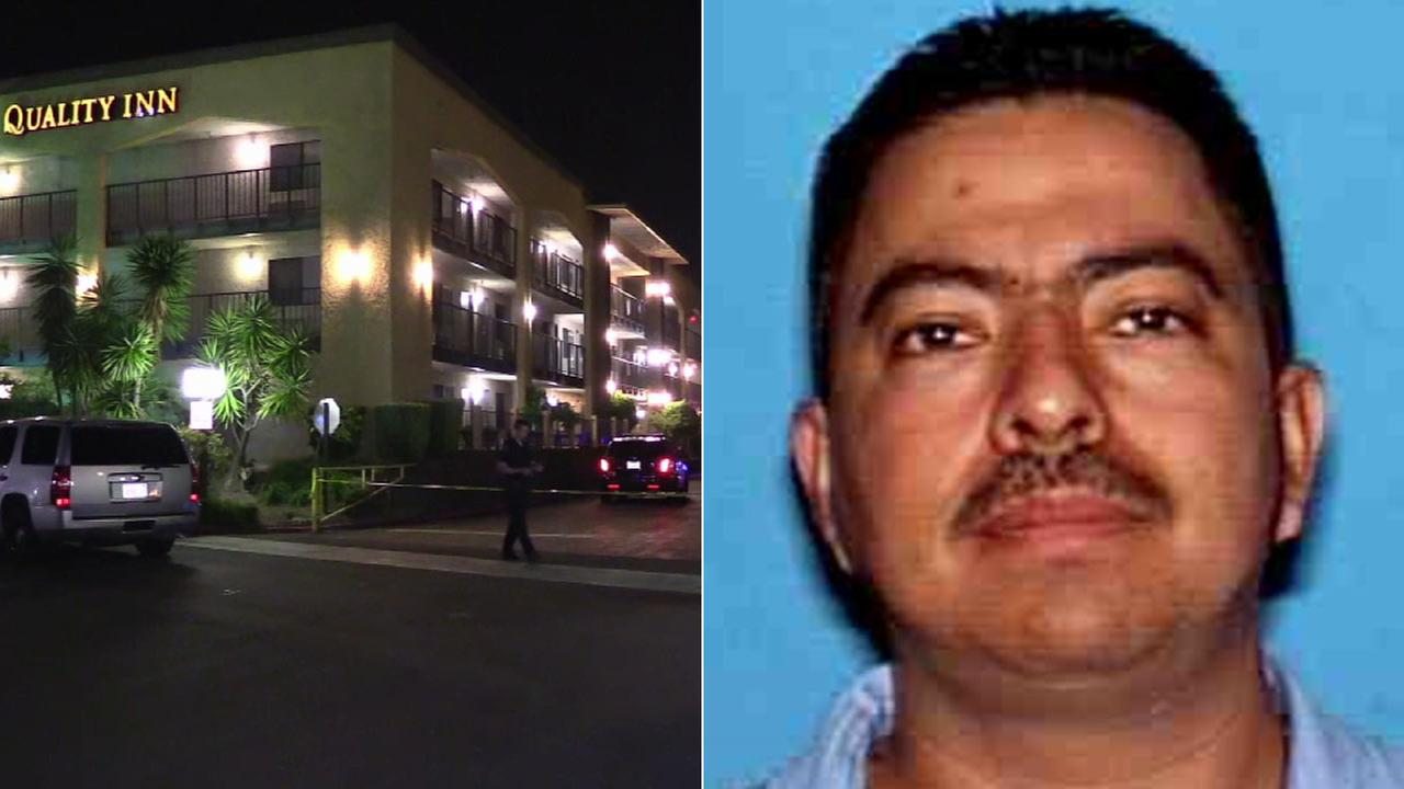 Alfredo Morales, 44, is seen in this undated file photo provided by the Ontario Police Department. Morales was shot by police at the Quality Inn Hotel on Wednesday, March 16, 2016.