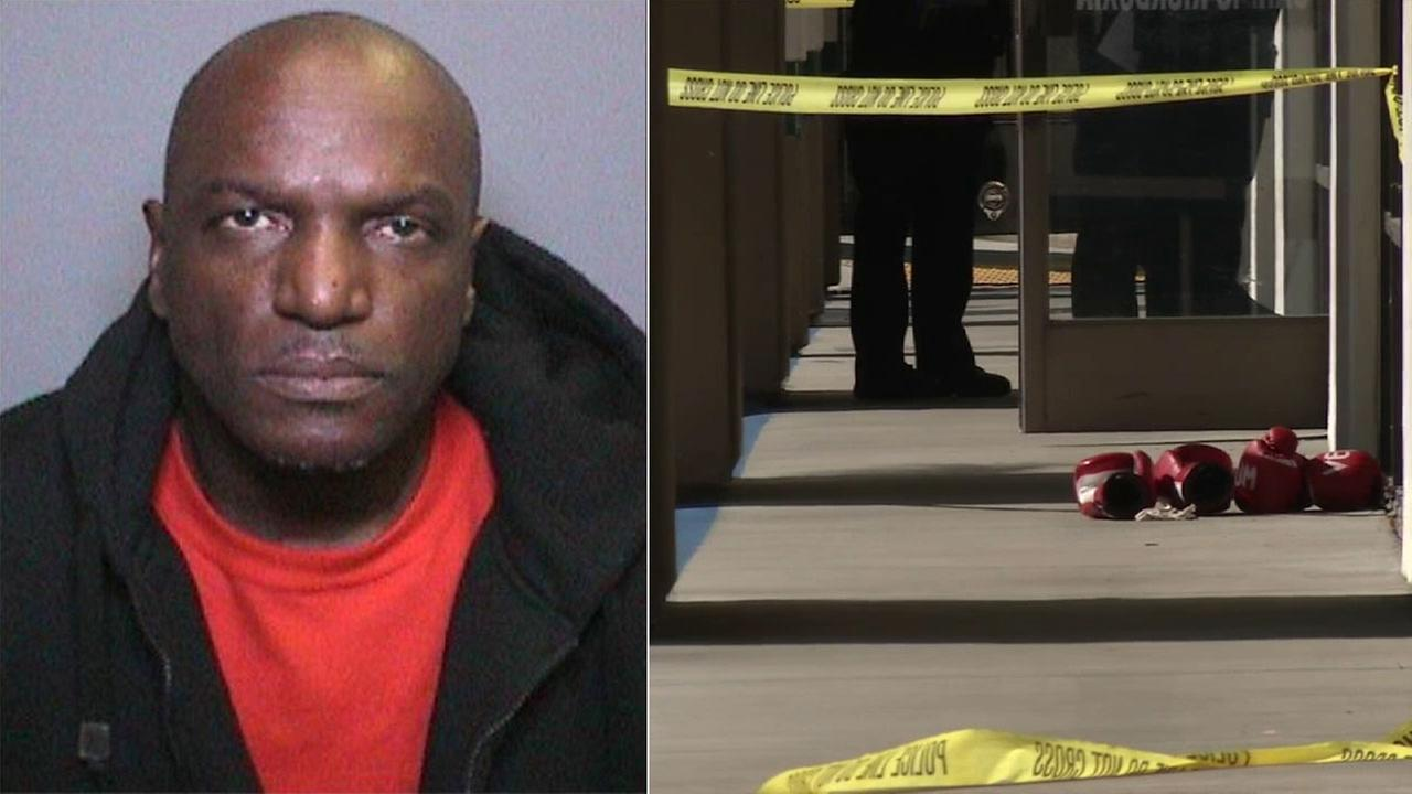 Kirk Vernell Price, 53, opened fire at the OC Boxing and MMA Academy in the 14000 block of Newport Avenue in Tustin Thursday, March 25, 2016.