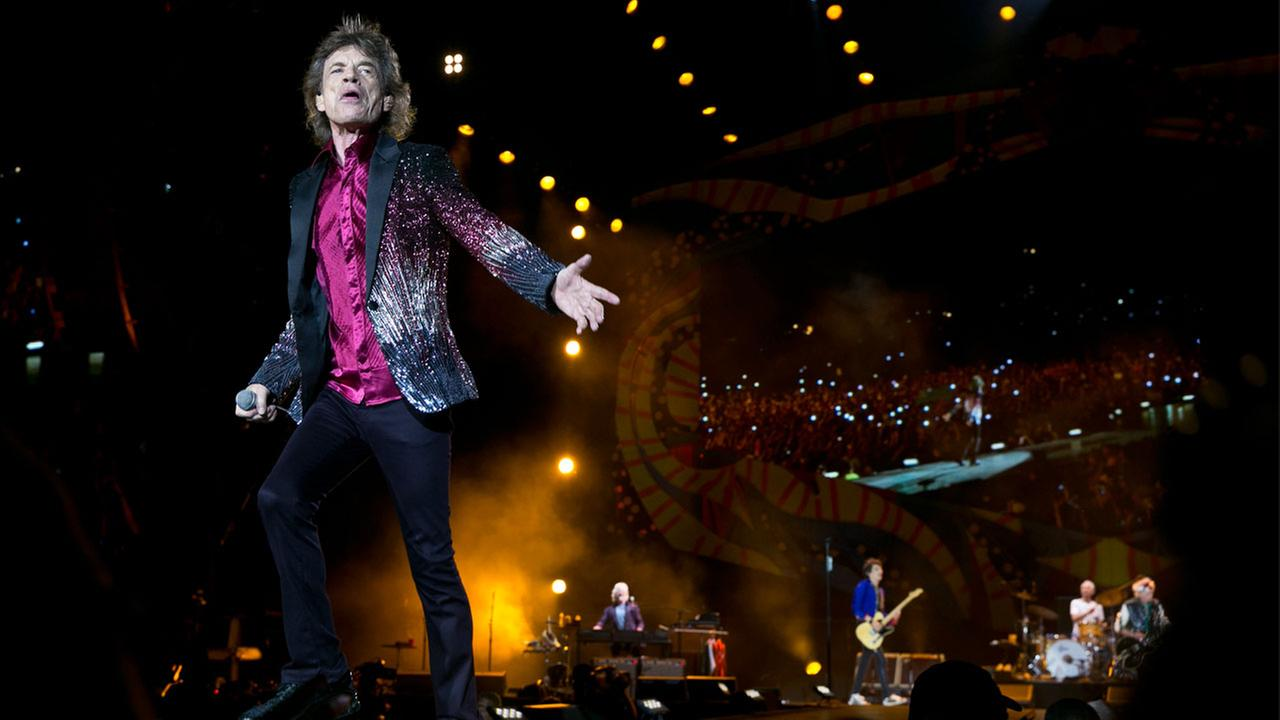 Mick Jagger of The Rolling Stones performs in Havana, Cuba, Friday March 25, 2016.
