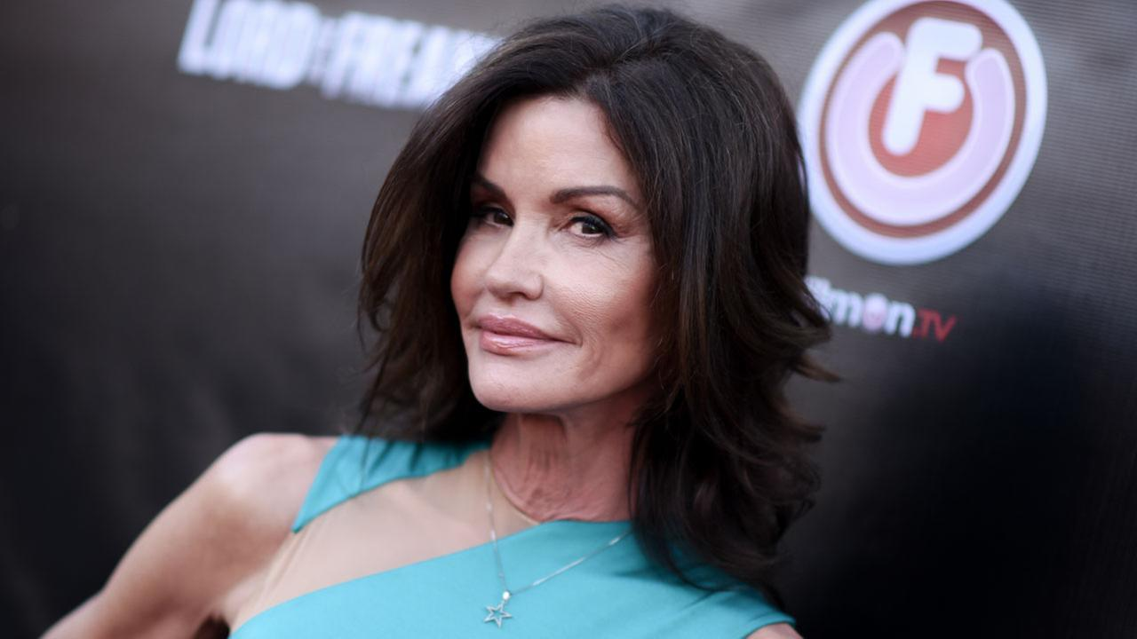 Janice Dickinson arrives at the LA Premiere of Lord of the Freaks on Monday, June 29, 2015 in Los Angeles.