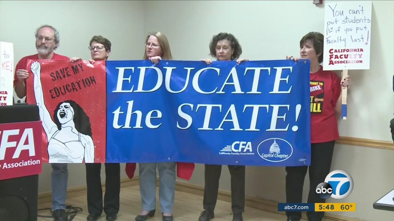 A key report released Monday calls on California State University to give faculty members the pay raises theyve requested as the two sides prepare for a five-day strike if they cant reach an agreement.