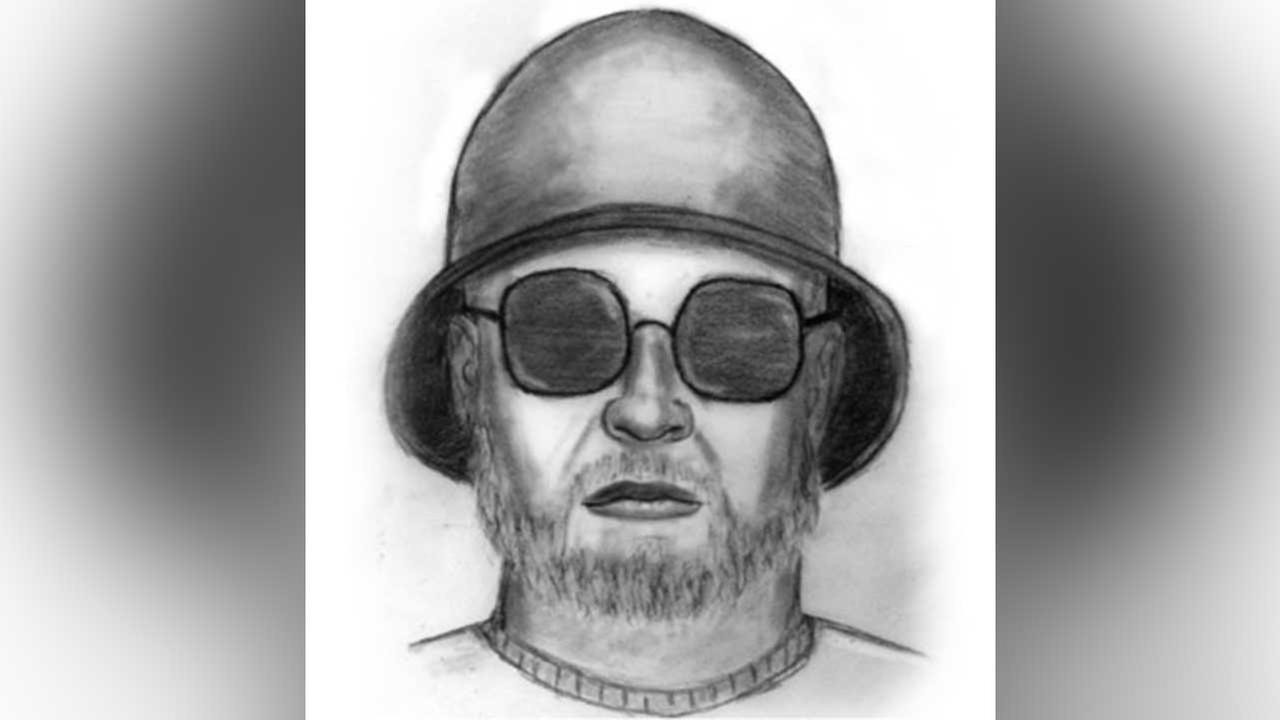 The Los Angeles County Sheriffs Department released this sketch of a suspect sought for attacking two people with a hammer in East Los Angeles on March 25, 2016.
