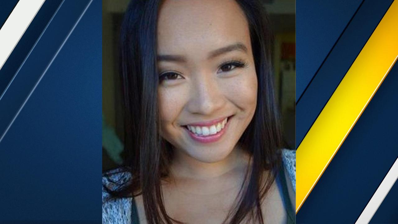 UCLA graduate student Alison Wu is seen in this photo provided by the school.