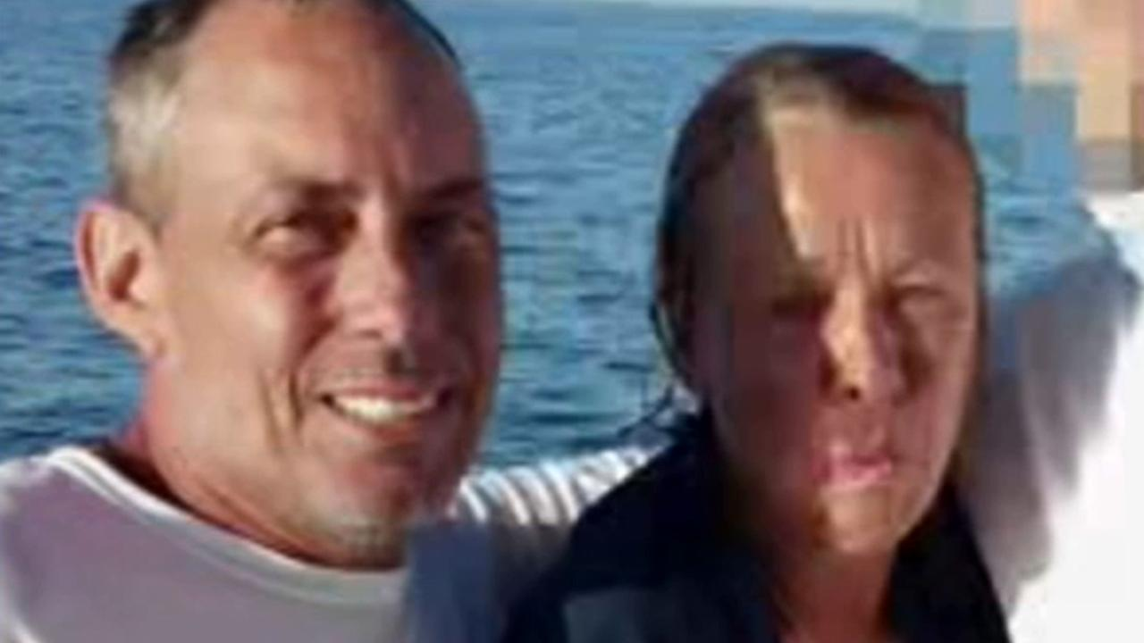 Sean McGovern and Mellisa Morris were thrown overboard from their boat off the coast of Florida and treaded water for 14 hours until they were rescued on Saturday, June 21, 2014.