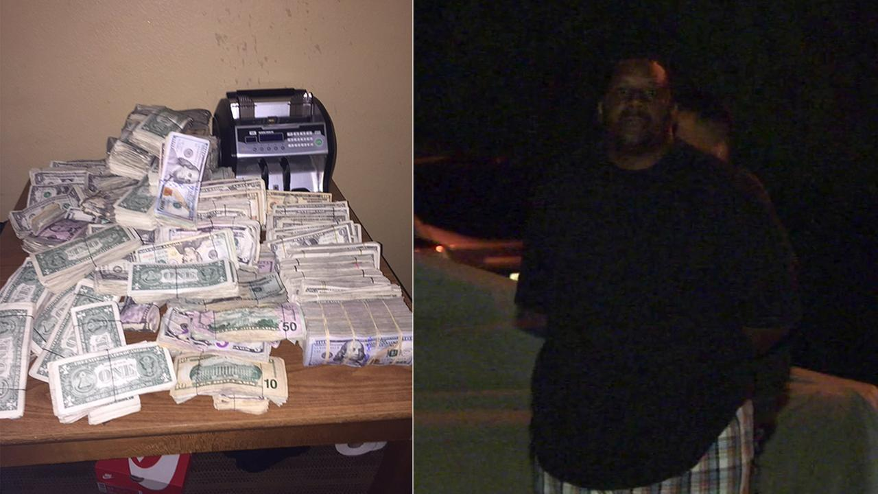 Derrick Turner, a Skid Row drug kingpin, was arrested by the Los Angeles Police Department and DEA officials at his Cerritos home Wednesday, April 27, 2016.