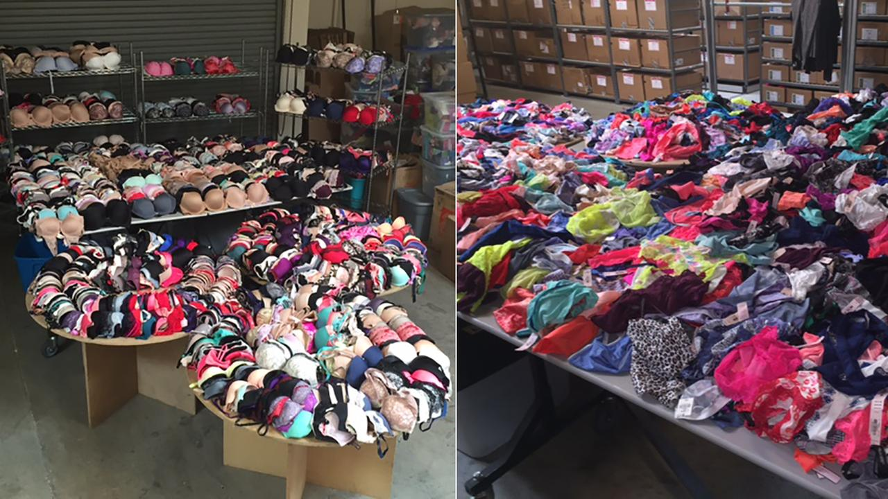 Shoplifters allegedly stole more than $500,000 worth of items from Victorias Secret and JCPenney stores across the Southland, Montebello police said.
