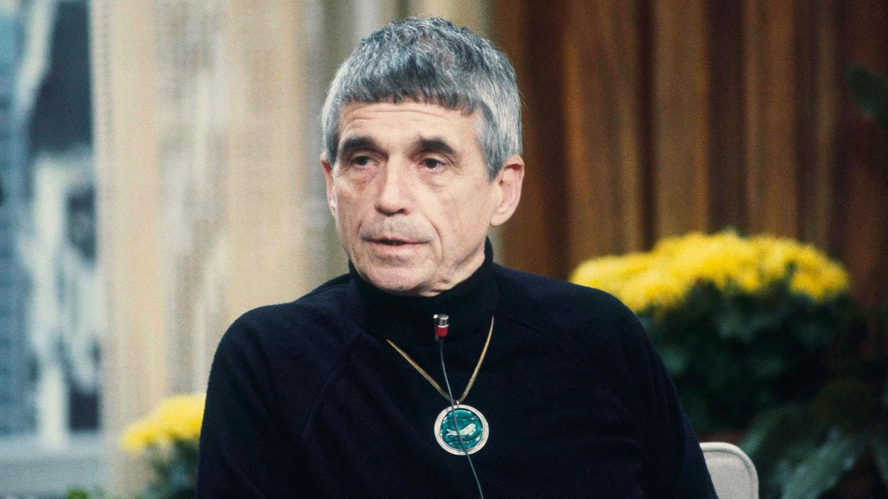 Daniel Berrigan, ex-priest, now political activist shown on NBC-TVs Today show in New York on Feb. 16, 1981.
