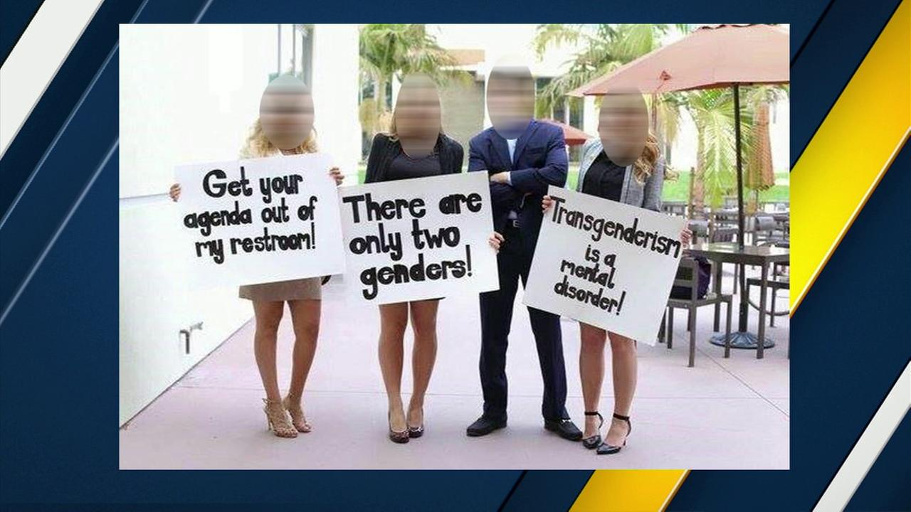 Local group launches campaign protesting target bathroom for Transgender bathroom debate