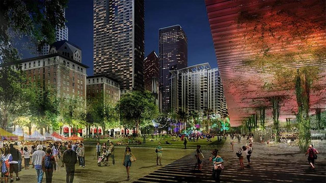 French landscape architecture firm Agence TER won a global competition to redesign the five-acre Pershing Square in downtown Los Angeles.